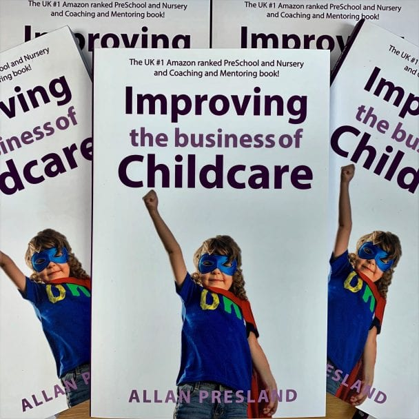 Improving the business of childcare book cover